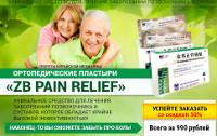 Ортопедический Пластырь от боли Позвоночника и Суставов ZB Pain Relief - Берегово